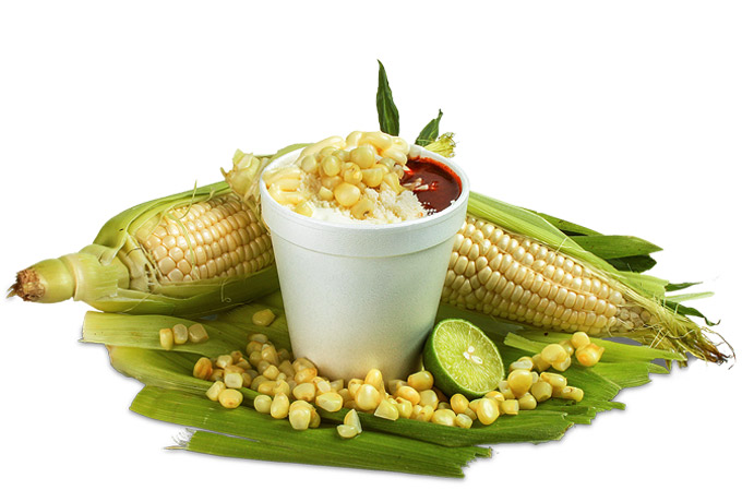 Mexican corn or yellow corn